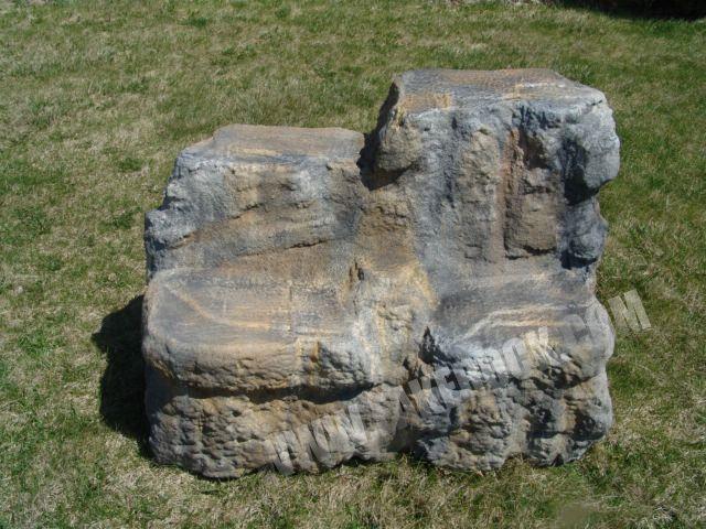 faux rock benches - Fake Rock