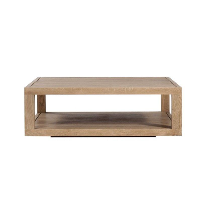 table basse chene duplex ethnicraft