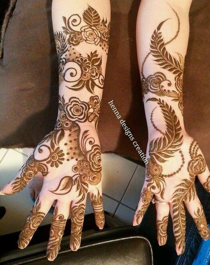 نقش حنا Khafif Mehndi Design Bridal Mehendi Designs Hands