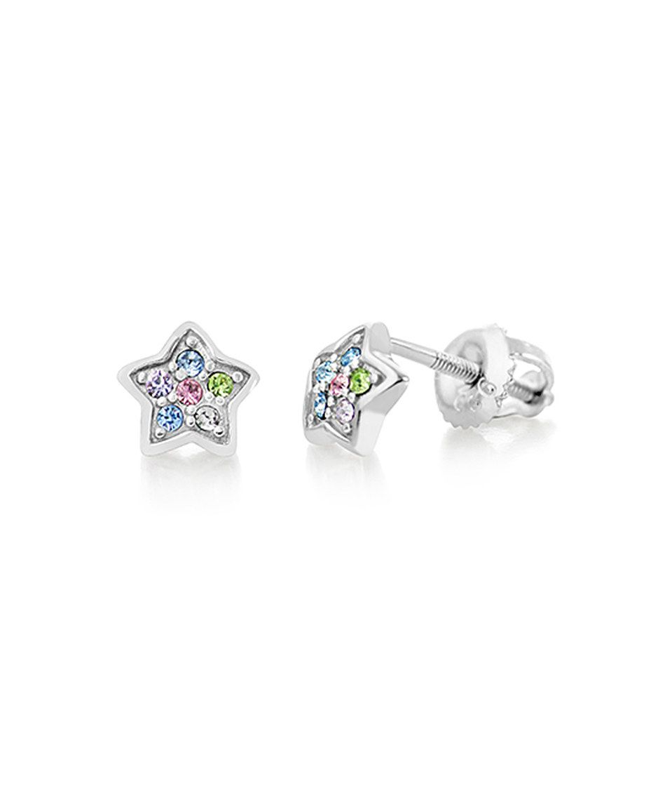 64325f0188e48 Chanteur Designs Crystal Star Stud Earrings Made With SWAROVSKI ...