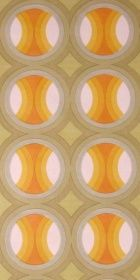 Vintage Wallpaper - Intersecting Rings