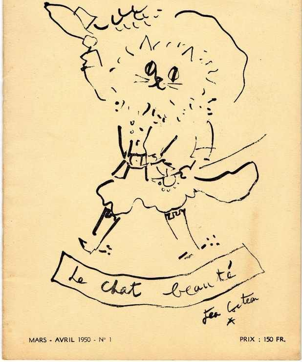 Le Chat Beaute - Jean Cocteau