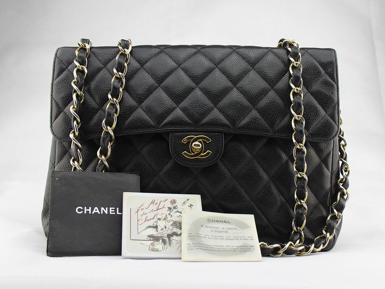 9c1c6cdc0ba4 Sac à main Chanel Timeless Jumbo en occasion Prix d occasion   1499 €    État quasi neuf
