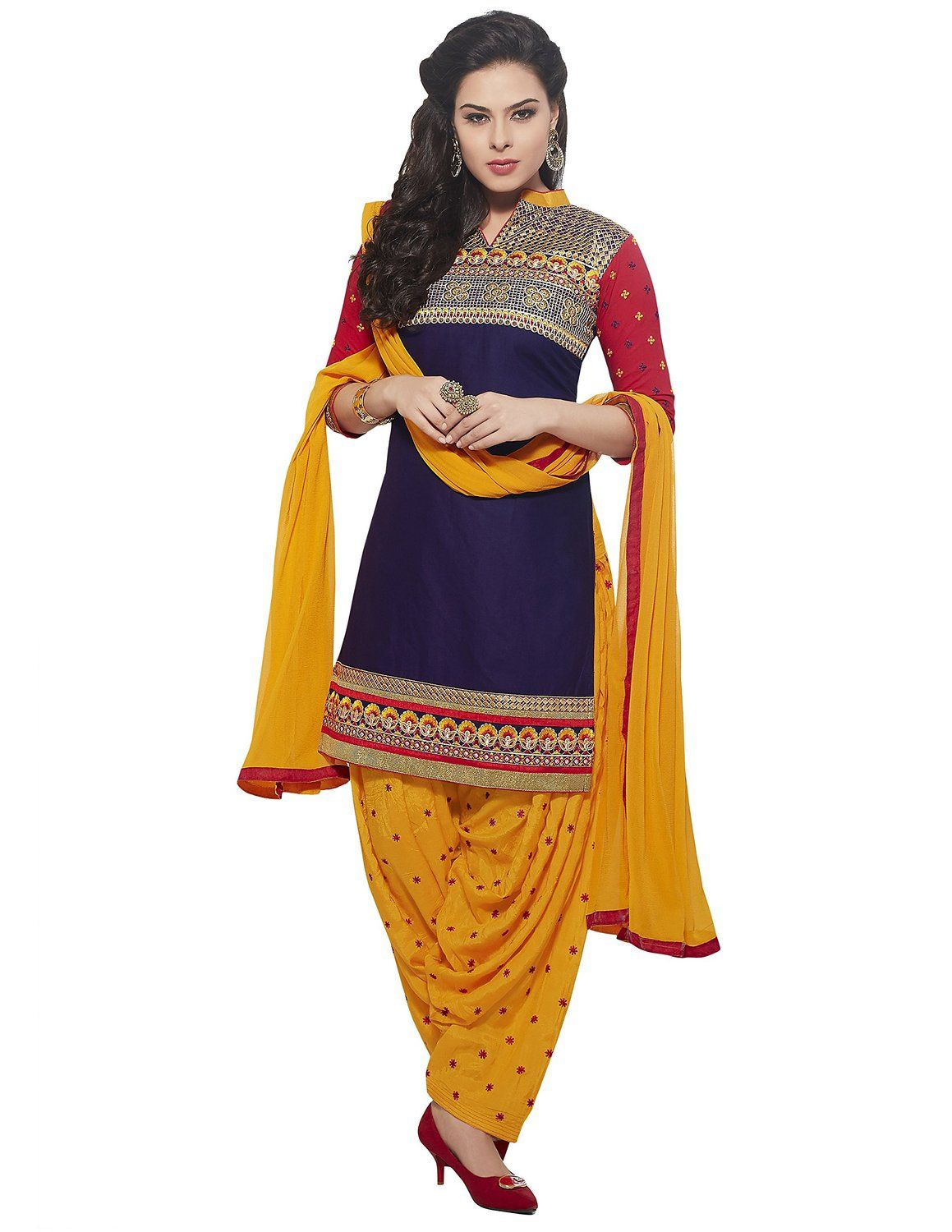 75257be759 Jaybhavanifashion Women Cotton Dress Material (C-Kessi-5351 _Purple _Free  Size): Amazon.in: Clothing & Accessories,Designer Patiala Suits,Embroidery  Dress ...