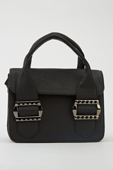 Small Bag – Large Buckle Side – BLACK – Handbags and Satchels ...