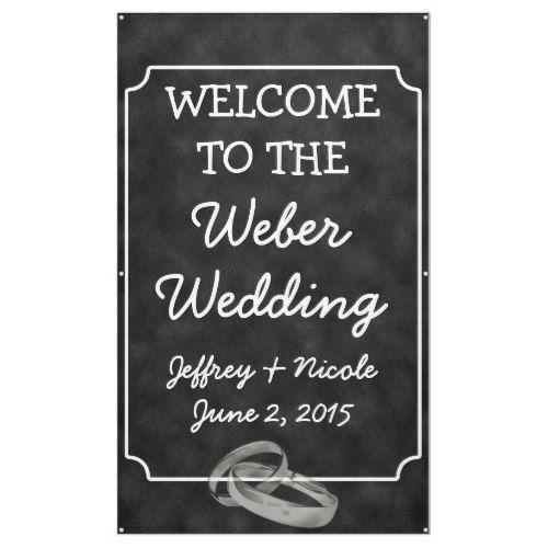 Personalized Custom Wedding Banner