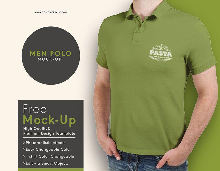Download Polo T Shirt Mockup Template Shirts Shirt Mockup Tshirt Mockup
