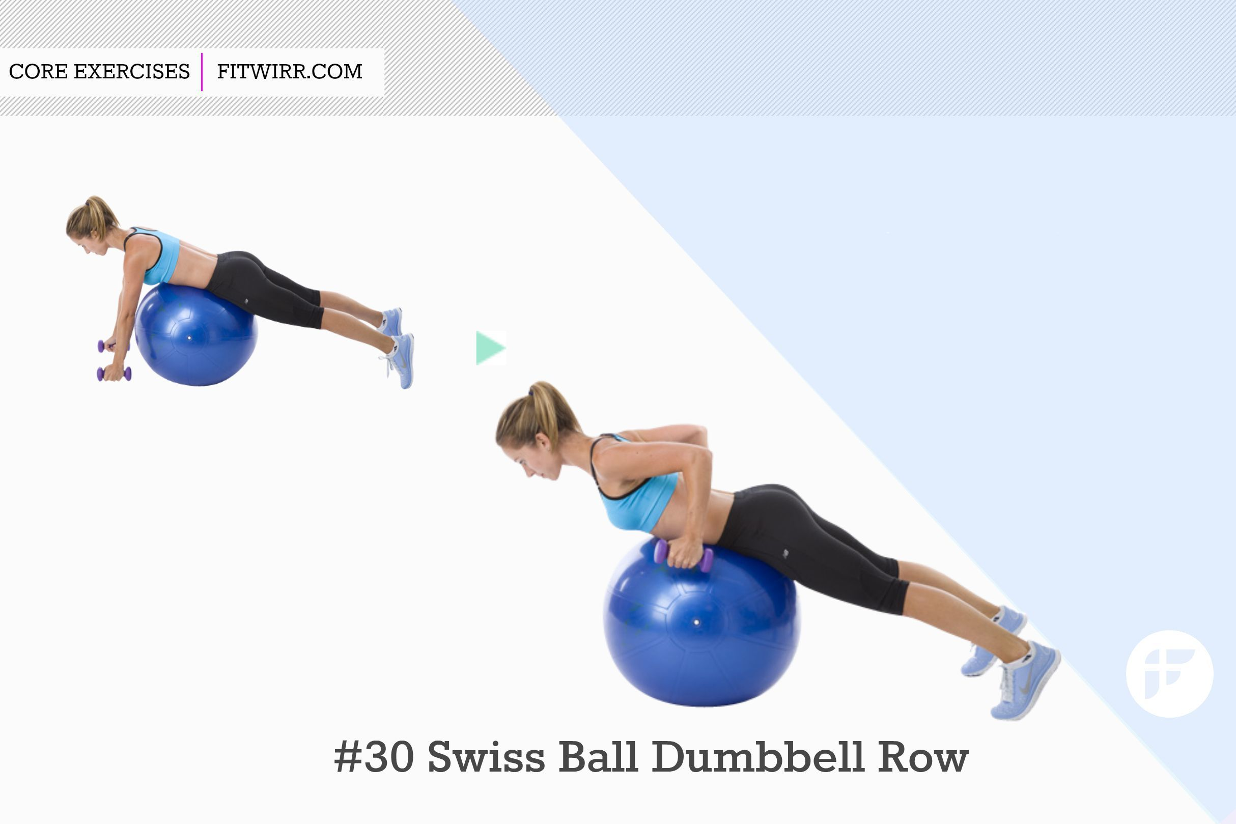 30 Best Stability Ball Exercises for a Stronger Core - Fitwirr