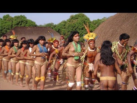 ISOLATED Amazon Tribes Xingu Indians The Discovery Documentary BB