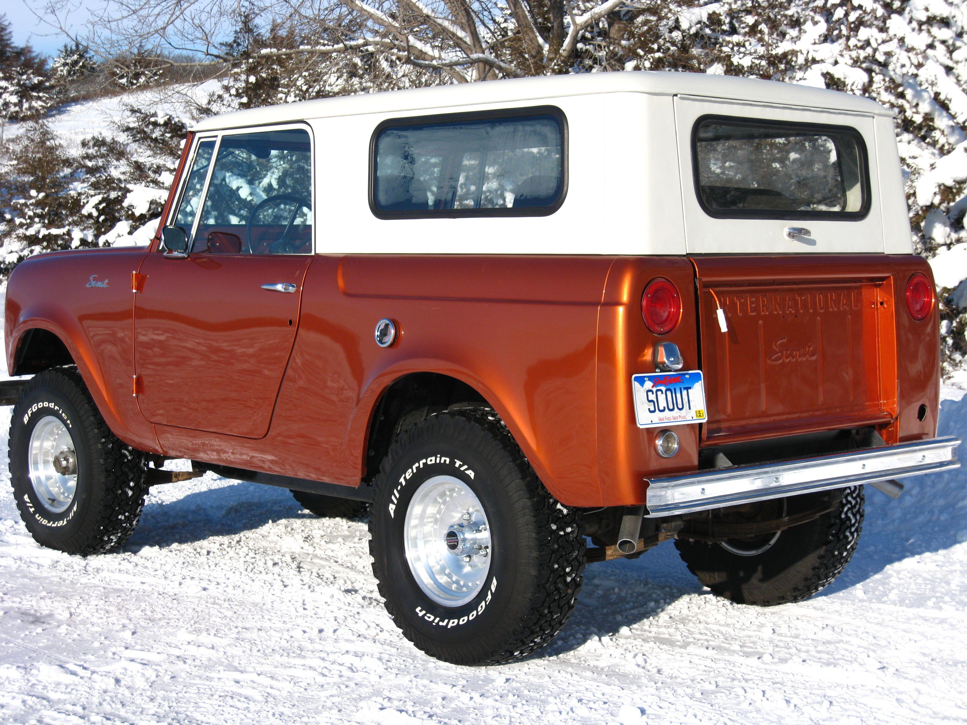 1963 scout rear international scout scout truck. Black Bedroom Furniture Sets. Home Design Ideas