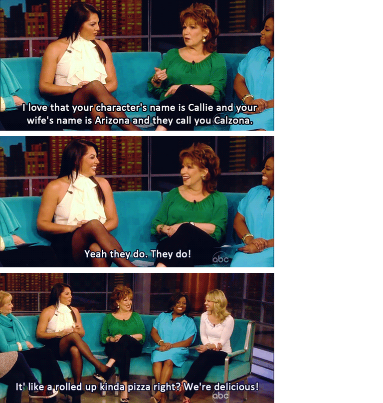Sara thinks Calzona is delicious <3