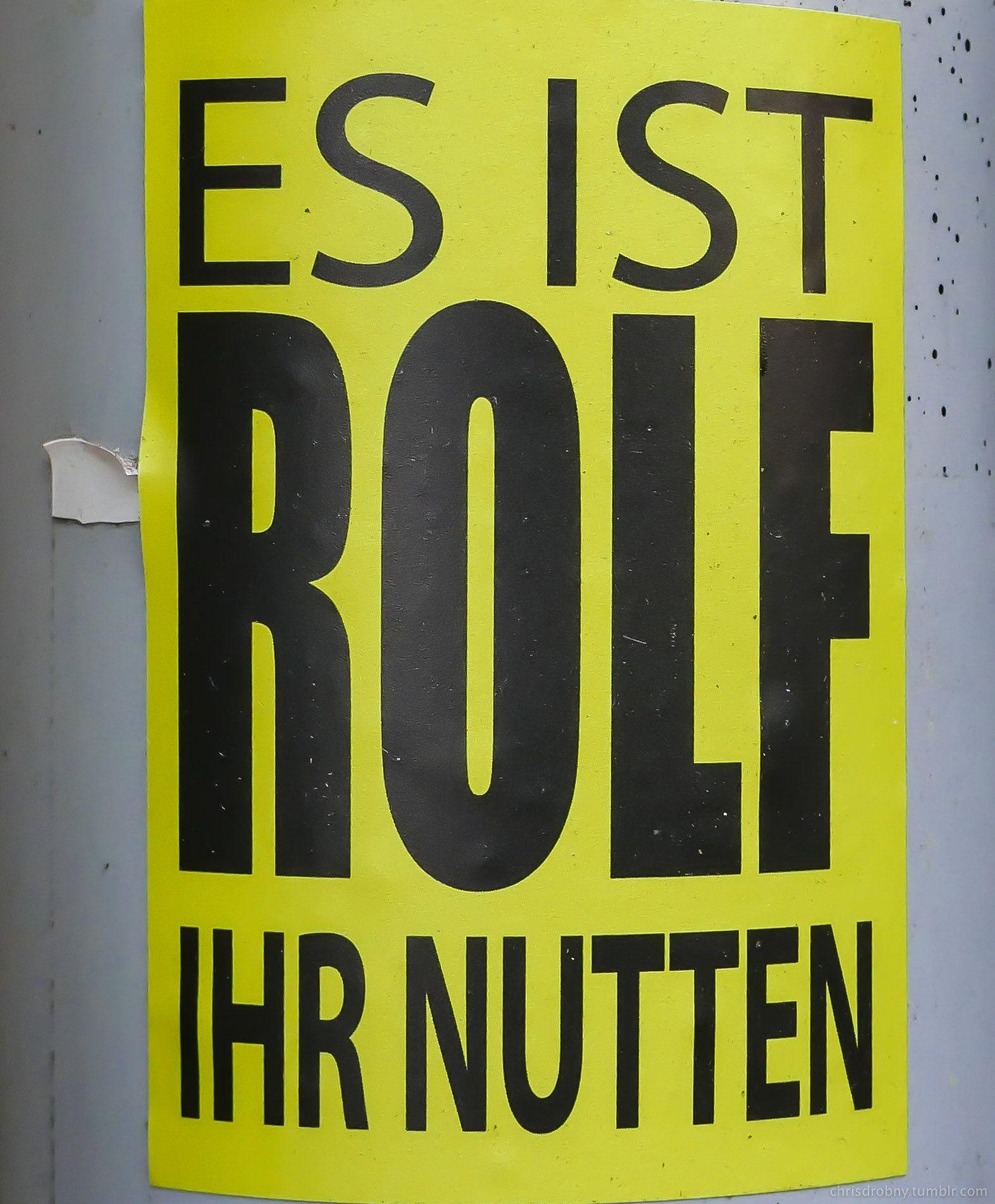 Rolf Hamburg es ist rolf ihr nutten sticker hamburg hamburg stickers