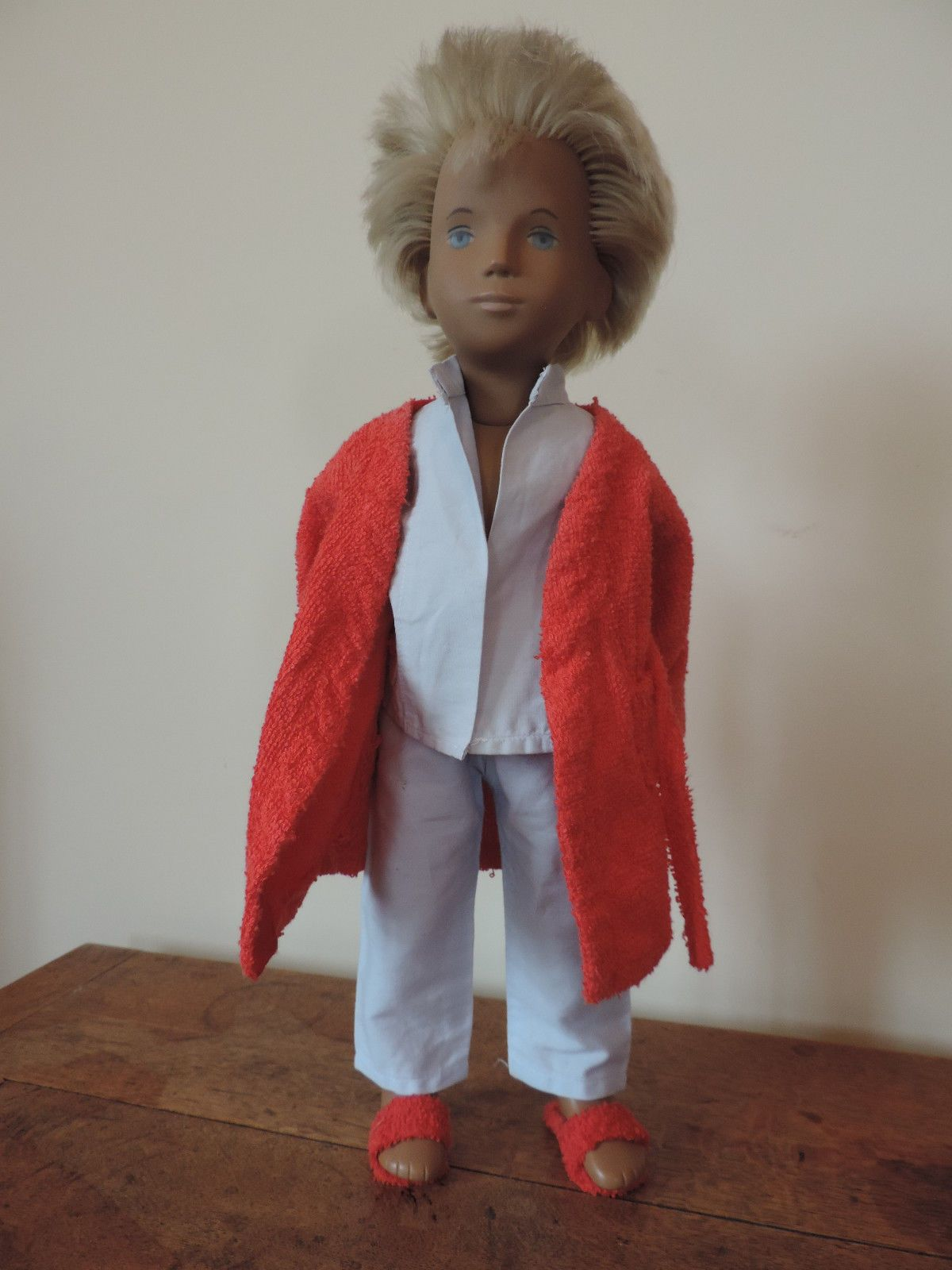 Vintage 1970\'s Sasha Doll Pyjamas, Dressing Gown and Slippers ...