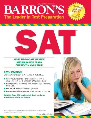 Barron's SAT (Barron's Sat (Book Only)) | Books Worth