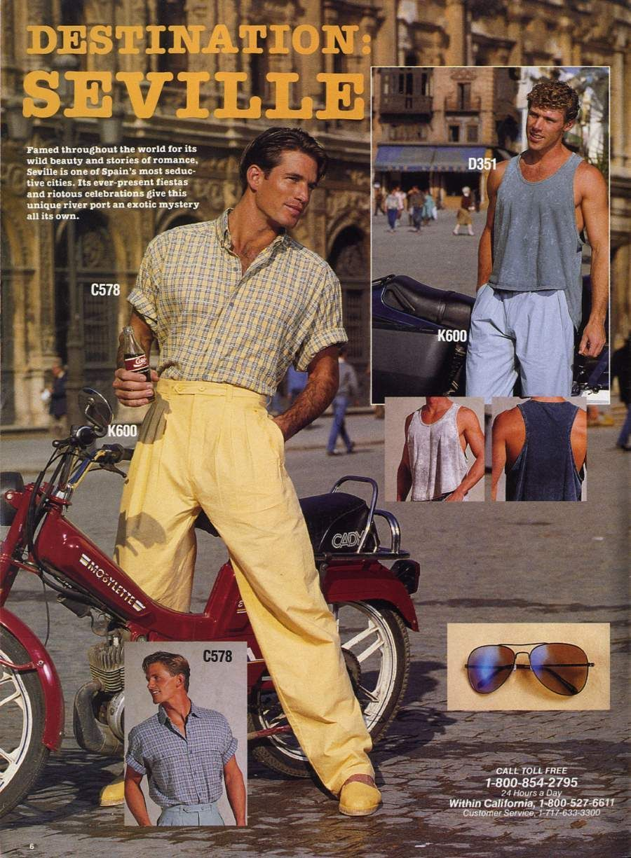 Pin By Brenda T On 80s 80s Fashion Men Vintage Mens Fashion 1980s Fashion Trends