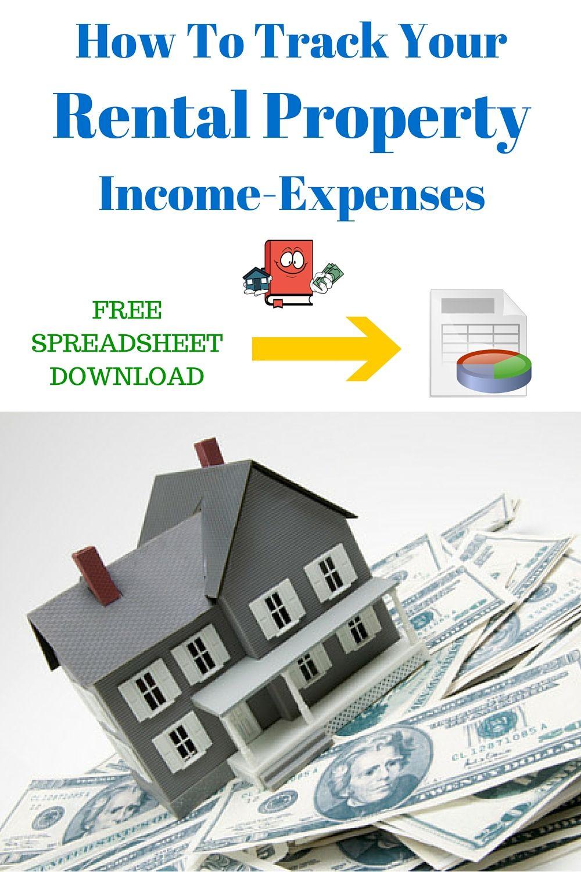 rental property expenses spreadsheet