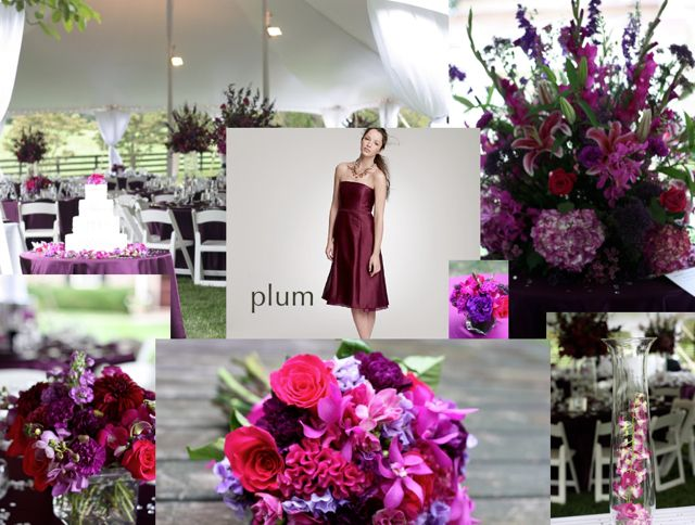 Fall Wedding Colors Purple And Plum