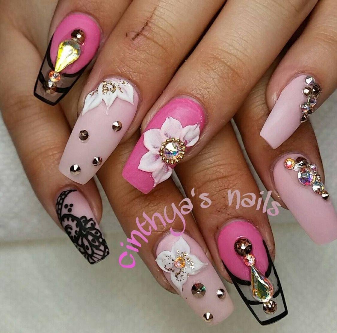 Pinterest @IIIannaIII | Nails | Pinterest | Nail nail, Coffin nails ...