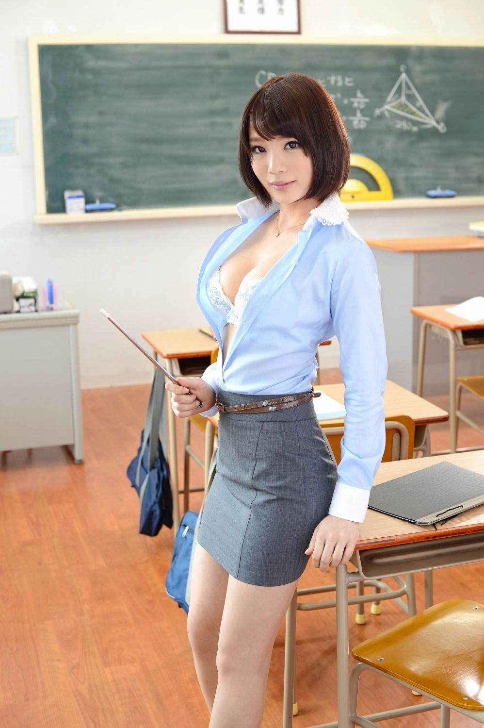Hot asian teacher