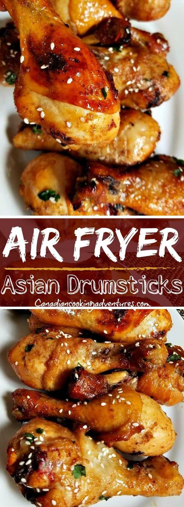 Air Fryer Asian Chicken Drumsticks Drumstick recipes