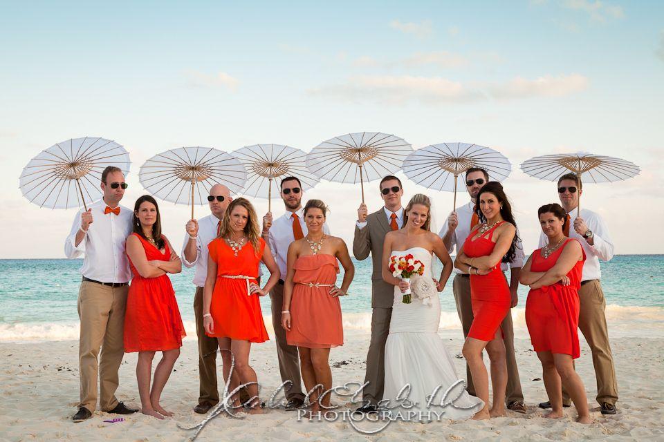Semi Formal Relaxed Beach Wedding