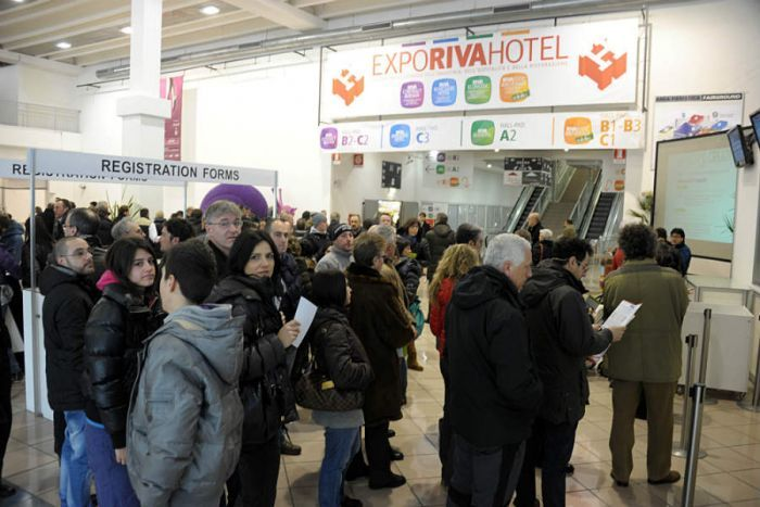 Expo Riva Hotel. Sul lago di Garda il salone dell'ospitalità e della ristorazione professionale - Gambero Rosso  http://www.gamberorosso.it/it/news/1030749-expo-riva-hotel-sul-lago-di-garda-il-salone-dell-ospitalita-e-della-ristorazione-professionale