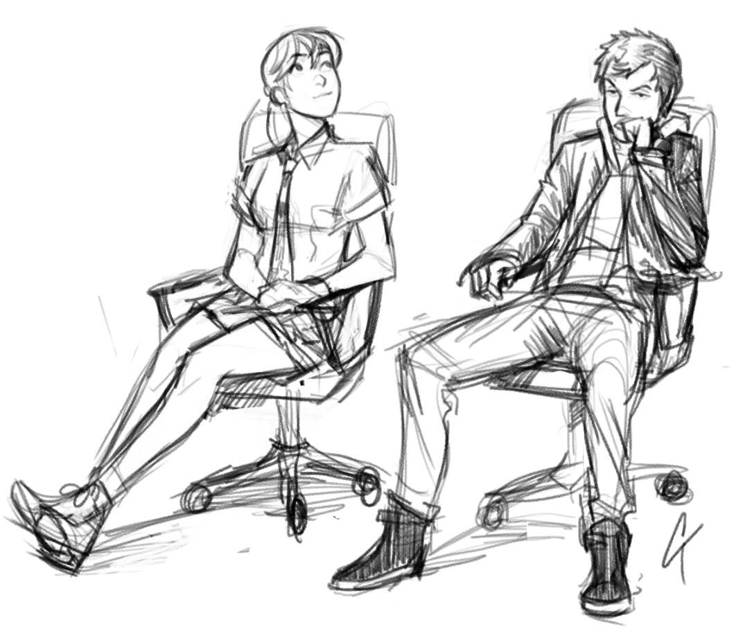 Posture Study Chair Windsor Chairs Black Lnnie Mei Project Character Ctchrysler Art