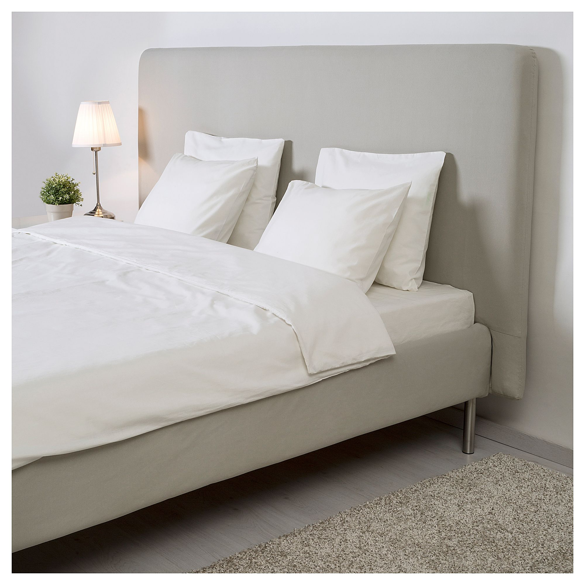 Tomrefjord Bed Frame Beige In 2019 Products Pinterest Bed