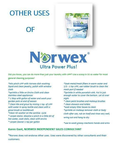 Did You Know Norwex Ultra Power Plus Does More Than Just Laundry