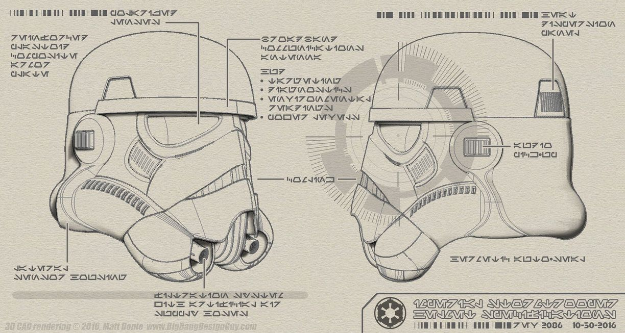Here Are Some Schematics With Technical Call Outs Of The Various Features Of The Imperial Stormtrooper Helme Star Wars Poster Star Wars Nerd Star Wars Universe