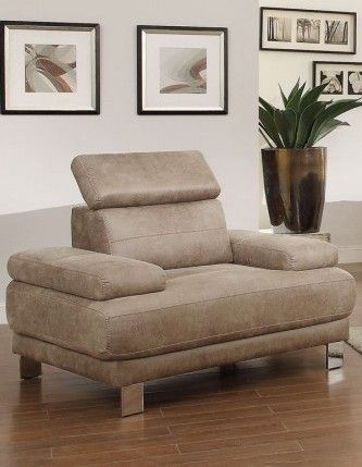 Tribune Contemporary Polyester Chair w/Stone Color
