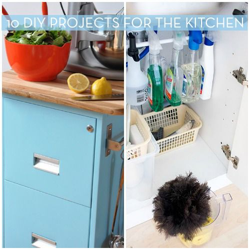 10 do it yourself projects to organize the kitchen do it yourself projects projects diy design on do it yourself kitchen organization id=22411