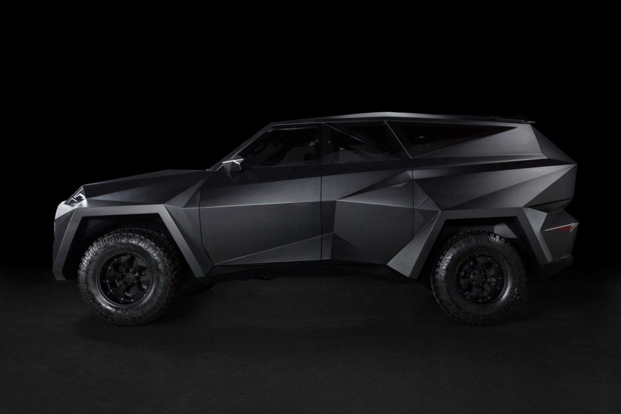 The 3 8 Million Karlmann King Ground Stealth Fighter Suv S