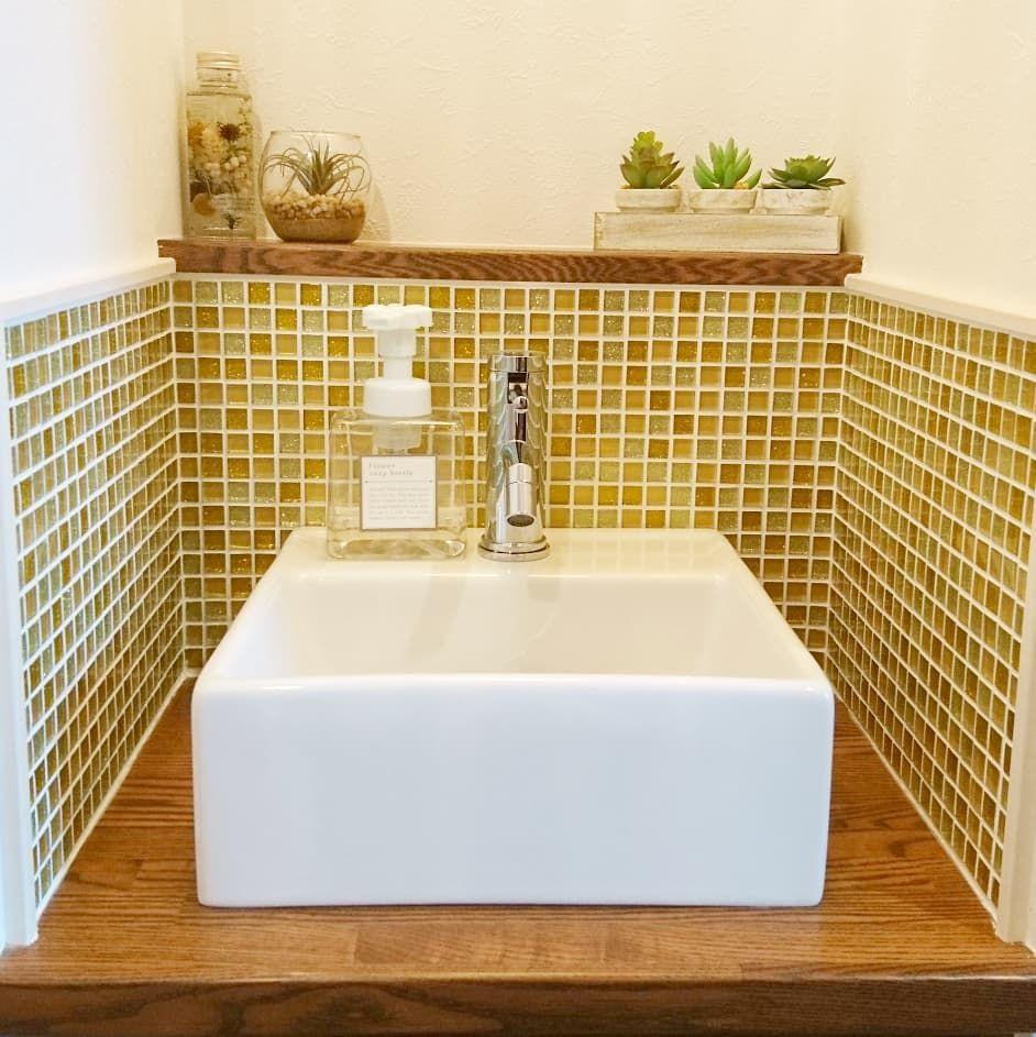 観葉植物をお部屋に飾っていると 浴室にも観葉植物を飾ってみたくなり