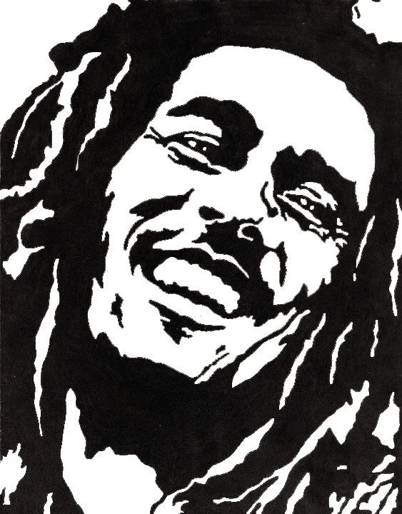 Pin By Mary Davis On Wood Burning Bob Marley Painting