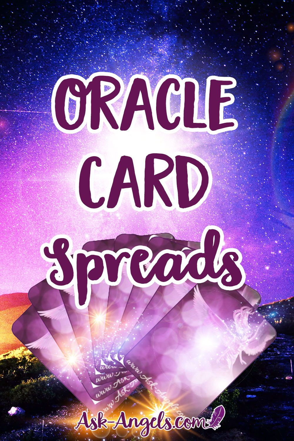 4 Oracle Card Spreads to Empower Accurate Readings! | Angel