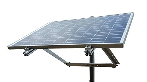 Windynation Side Of Pole Solar Panel Mount Rack For 30w To 120w Solar Panel Complete Side Of Pole Mount Kit In 2020 Solar Panel Mounts Best Solar Panels Solar Panels