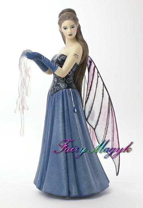 Vision Aquarius Zodiac Fairy by Jessica Galbreth