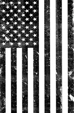 American Flag Black And White Vintage Clipart American Flag Art