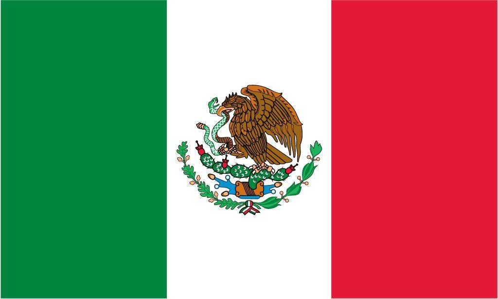 Flag Of Mexico Mexico1 Jpg Mexico Flag Mexico Tourist Spanish Culture
