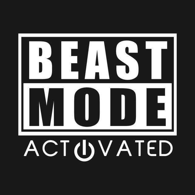 Check Out This Awesome Beast Mode Bodybuilding Gym Sport Design On Teepublic Motivationszitate Motivation Fitness Coole Spruche