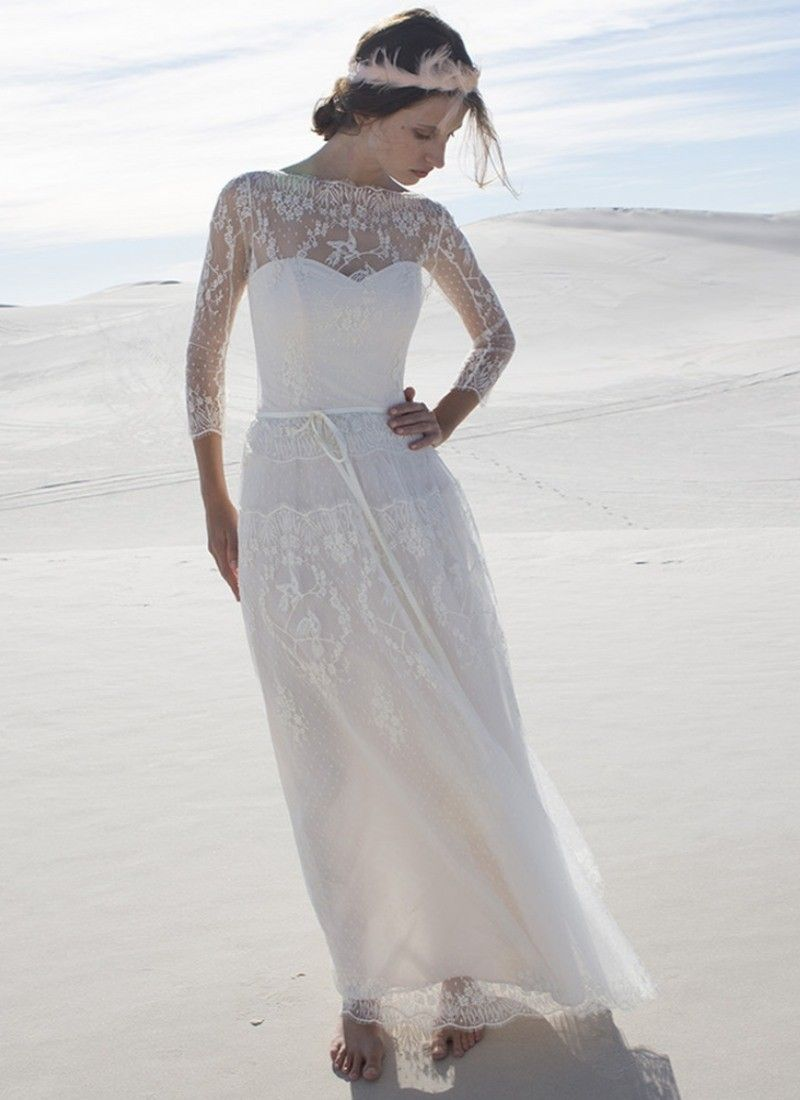 MATHILDE 20  Bridal dresses, Wedding dresses, Boho chic wedding dress