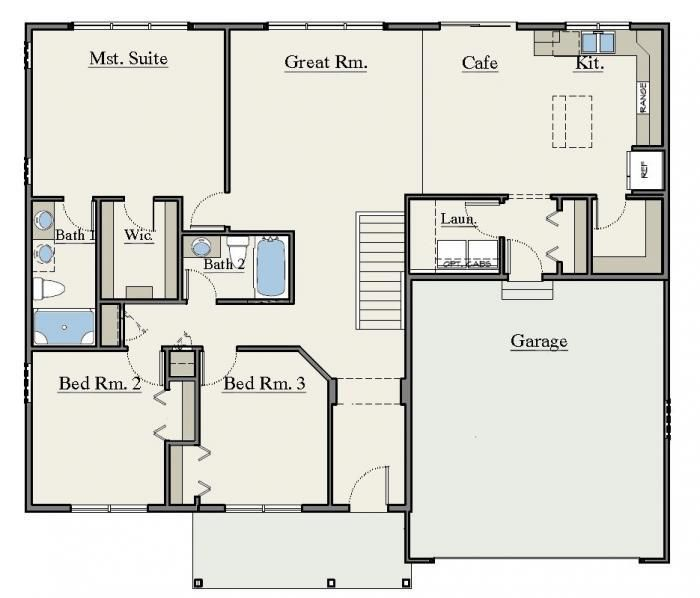 Simple Smallhouse Design Plans: Model Floorplan 657 (With Images)