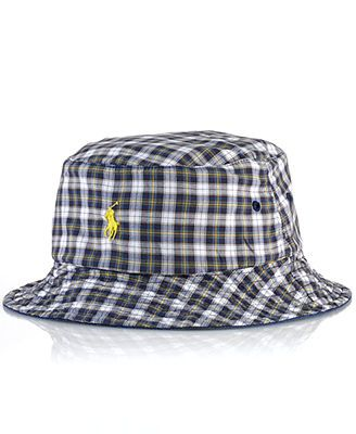 461fbf900d31 Polo Ralph Lauren Reversible Chino-and-Tartan Bucket Hat   Bucket ...