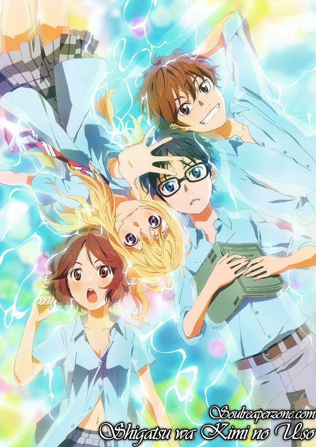 Shigatsu wa Kimi no Uso Your lie in april, Anime, I love