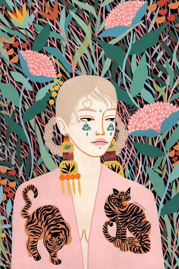 #fashionloving #illustration #environment #camouflaged #illustrated #ignatiadou #equally #fashion #s...