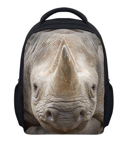 ... Girl Small  New 12 inch kids animal backpack boy school bags,tiger head  backpack printing bagpack,  12inch mochila ... b50451231a
