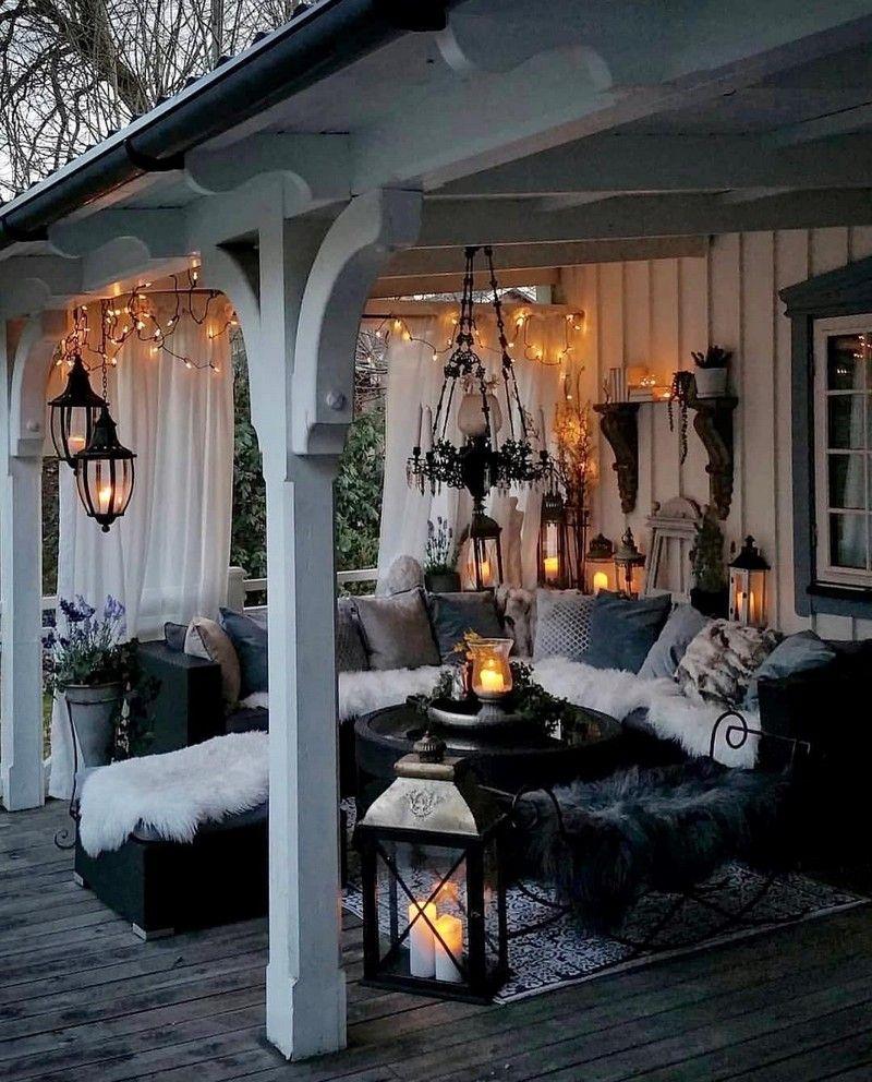Bohemian Garden Backyard and Patio Ideas  Diseño de terraza