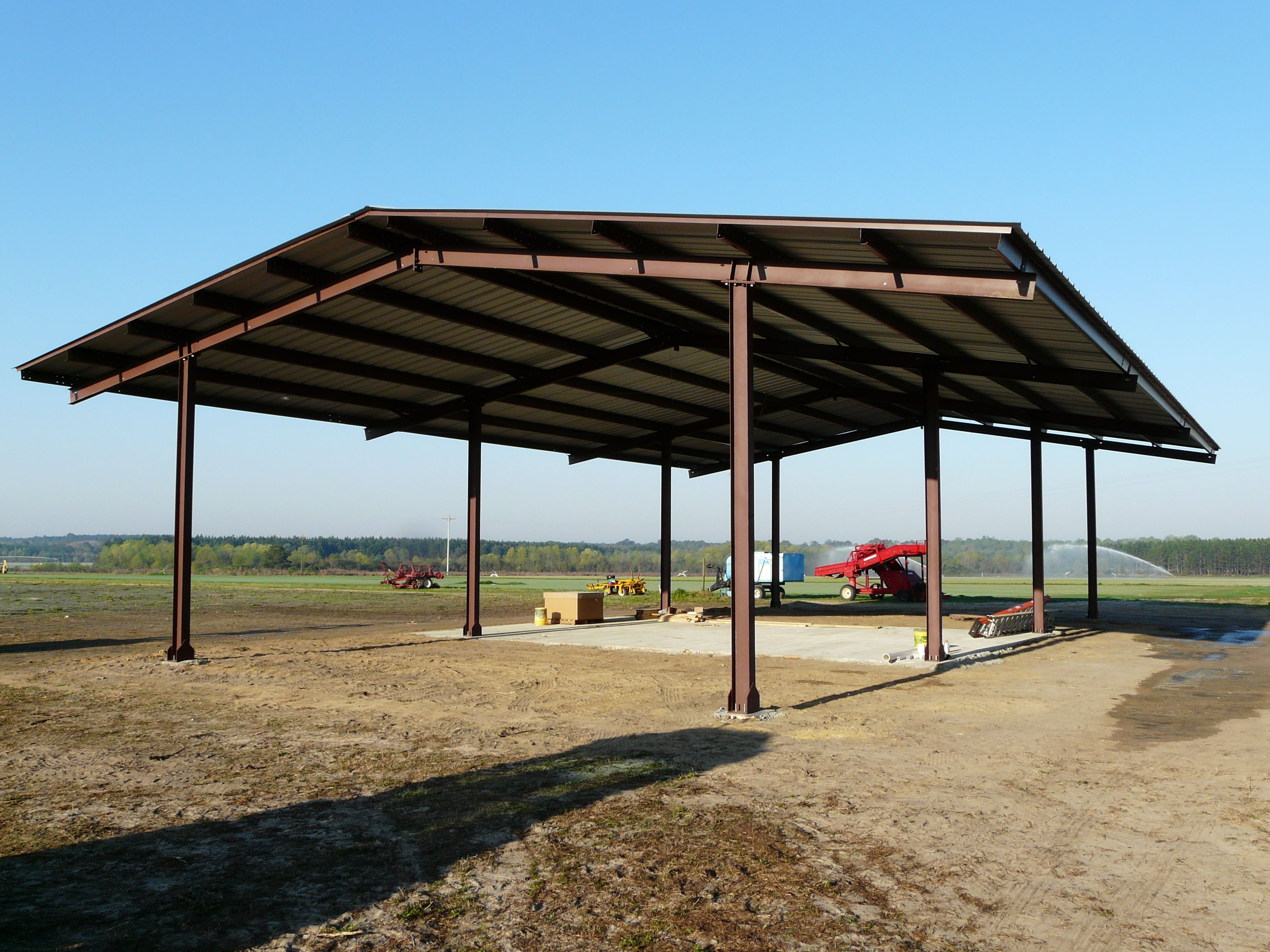 Wide Span Sheds Steel Shed Prices In New Zealand -