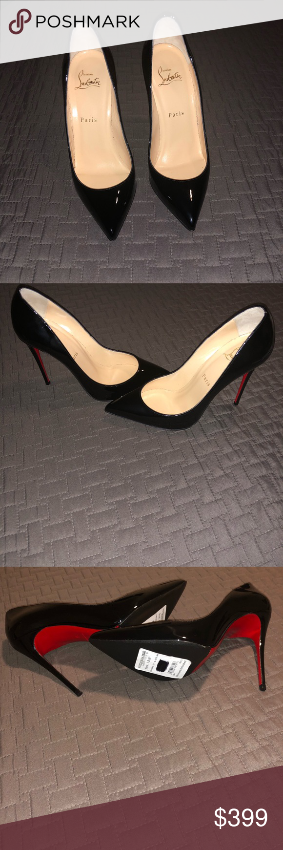 41ef53f284a So Kate Christian Louboutin 38 Black. Refurbished by and purchased ...